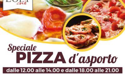 Pizza da asporto al Loft Cafè